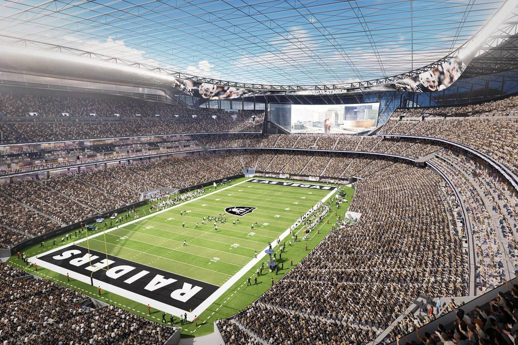 RAIDERS STADIUM By