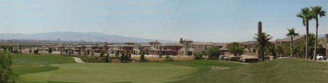 Tuscany Golf Course with Homes