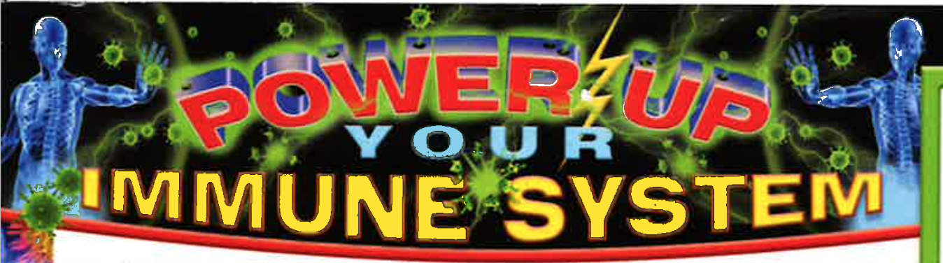 Power up immune system banner