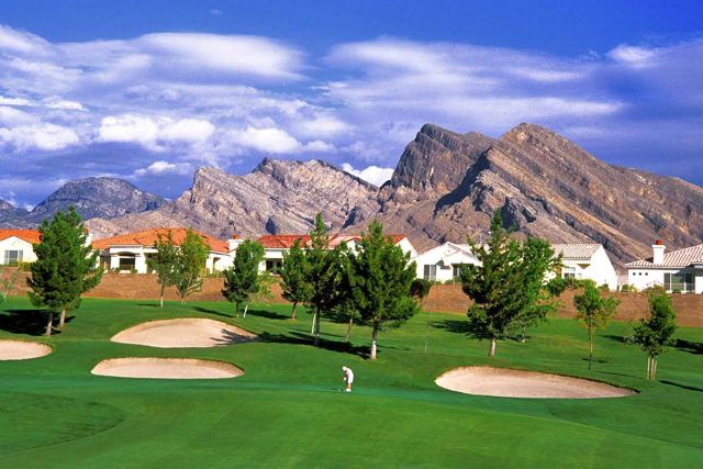 Sun City Summerlin Golf Course View