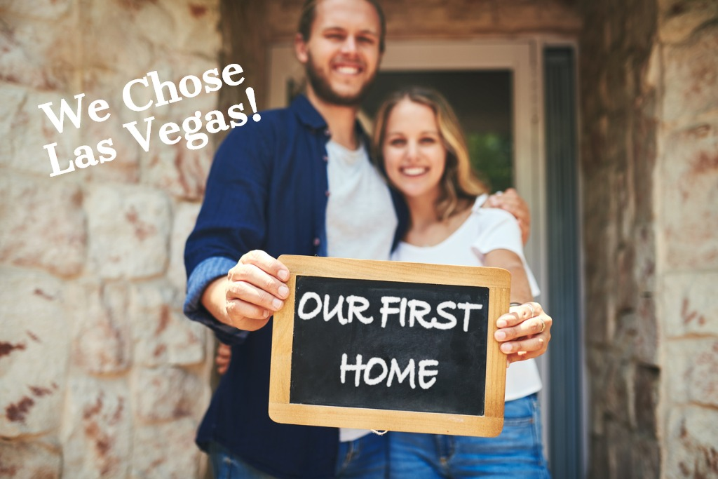 first home buyers chose las vegas