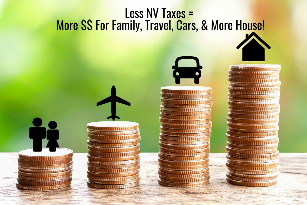 low taxes in nevada