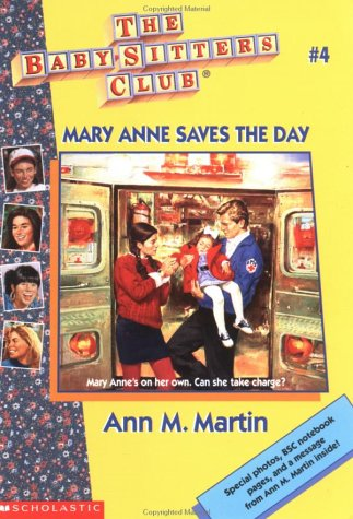 4 Mary Anne Saves The Day Part I Chapters 1 4 Baby