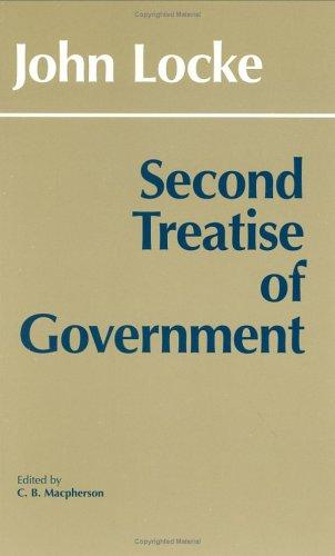 Lockes second essay of government