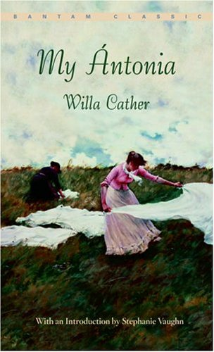An analysis of symbolism in the novel my antonia by willa cather