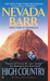 High Country (Anna Pigeon Mysteries, #12) by Nevada Barr