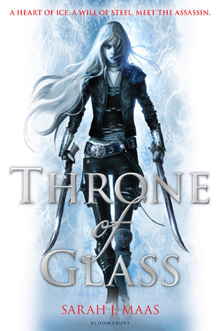 Throne of Glass by Sarah J Maas (Cover)