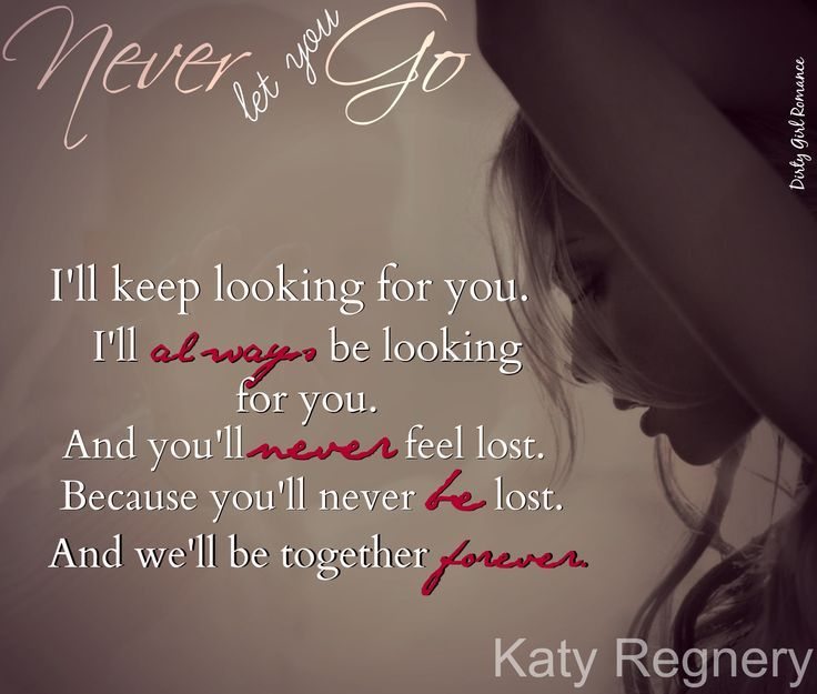 Never Let You Go (A Modern Fairytale #2) by Katy Regnery