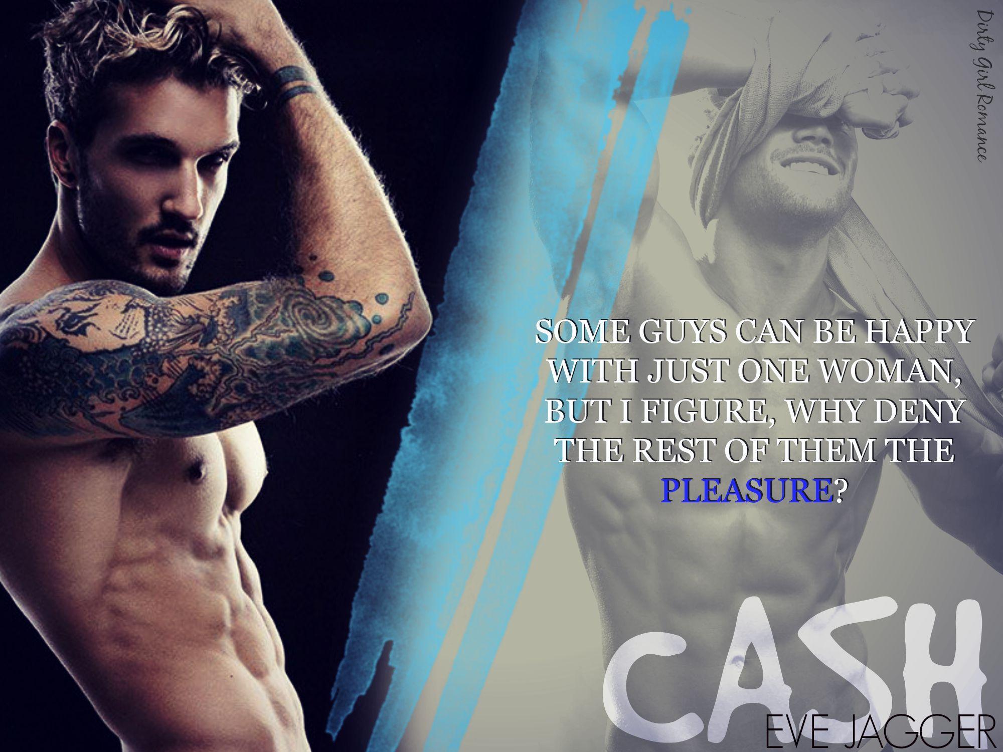 cash (sexy bastard, #2)eve jagger