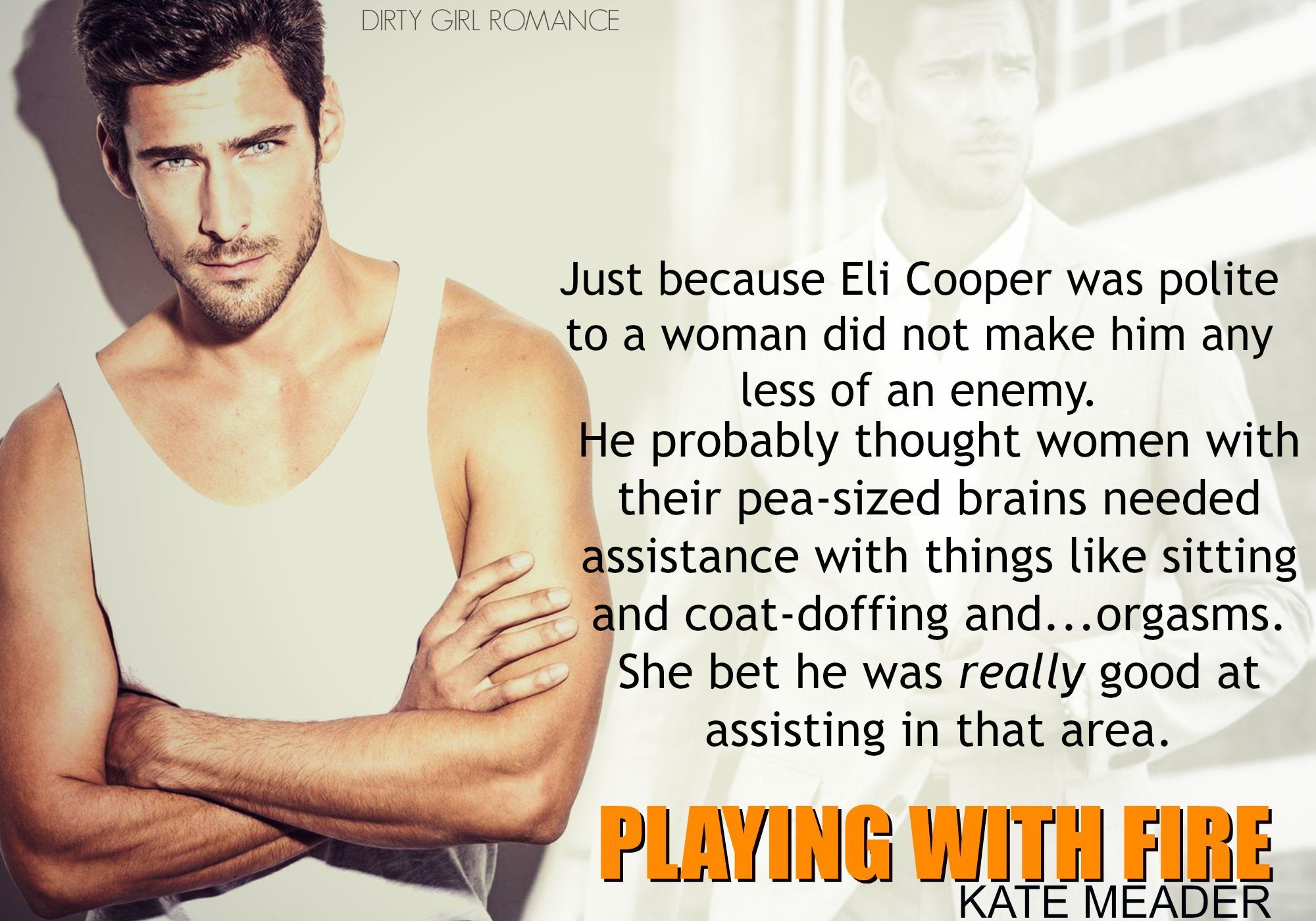 Playing with Fire (Hot in Chicago, #2) by Kate Meader
