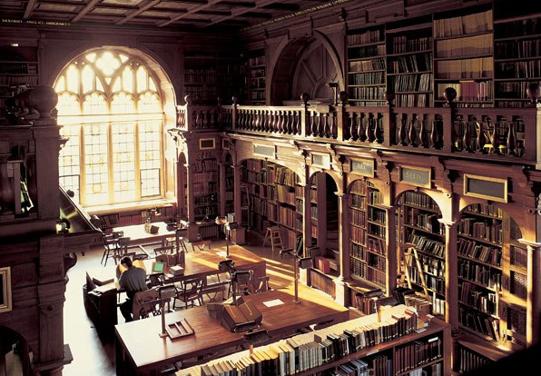 Image result for oxford bodleian library