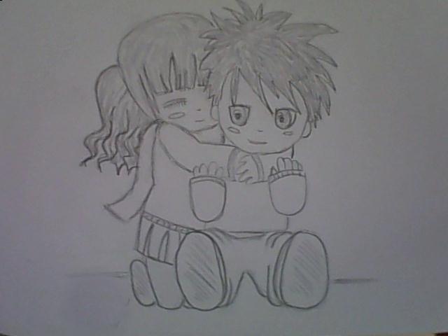 Cute manga drawing