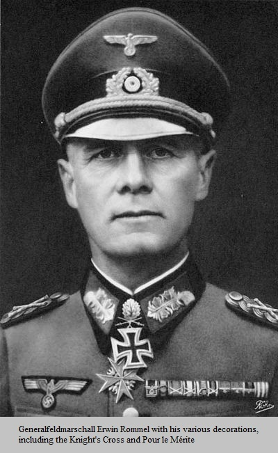 erwin rommel essay The information used to deduce and identify the principles that made up erwin rommels command style, have been presented throughout this piece.