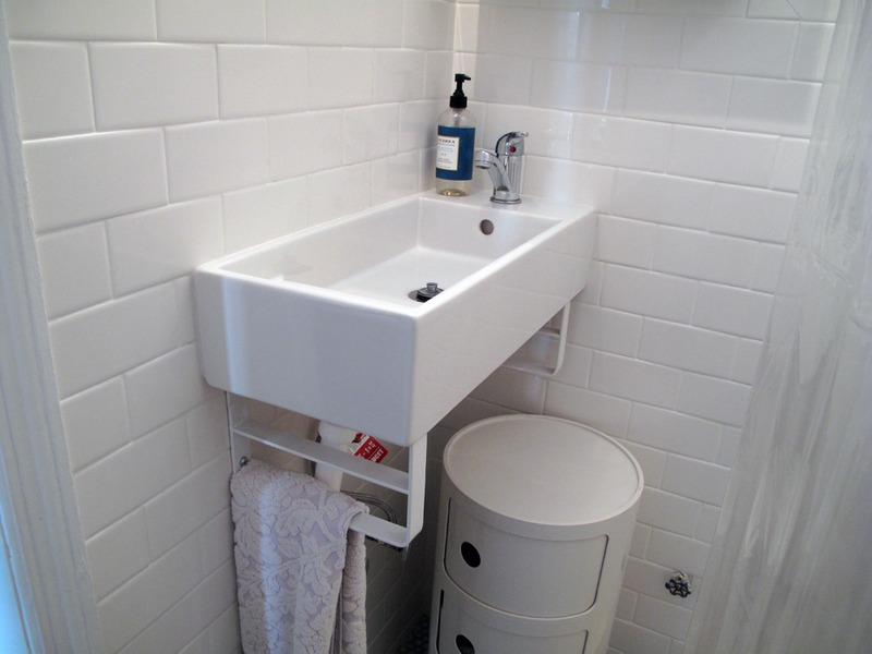 Popular Tearing Out Tile In Bathroom And Small Hall Right Outside Of Bathroom
