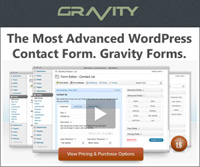 Easily create beautiful forms for your website or blog with Gravity Forms