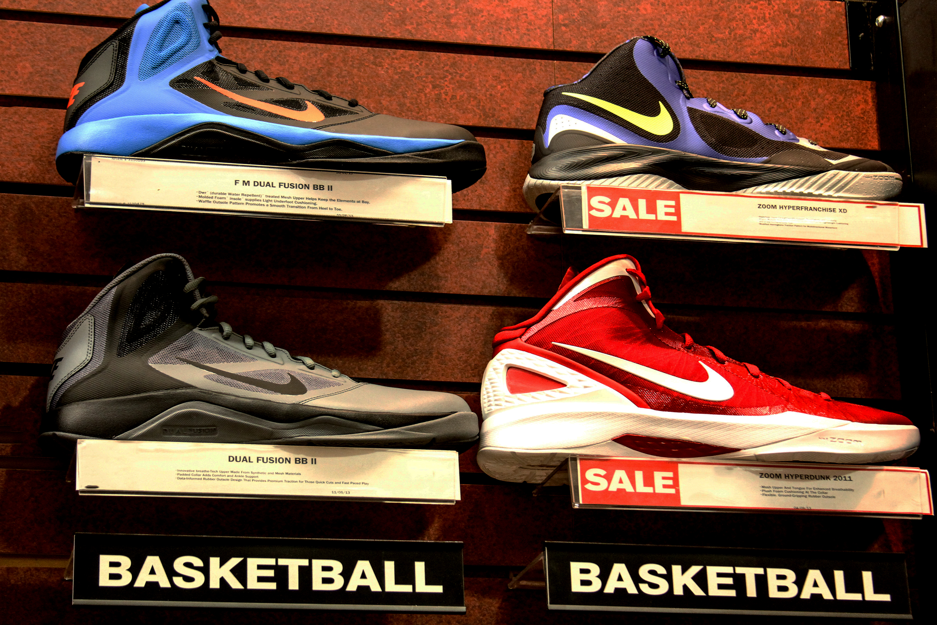 Better Grip From Basketball Shoes