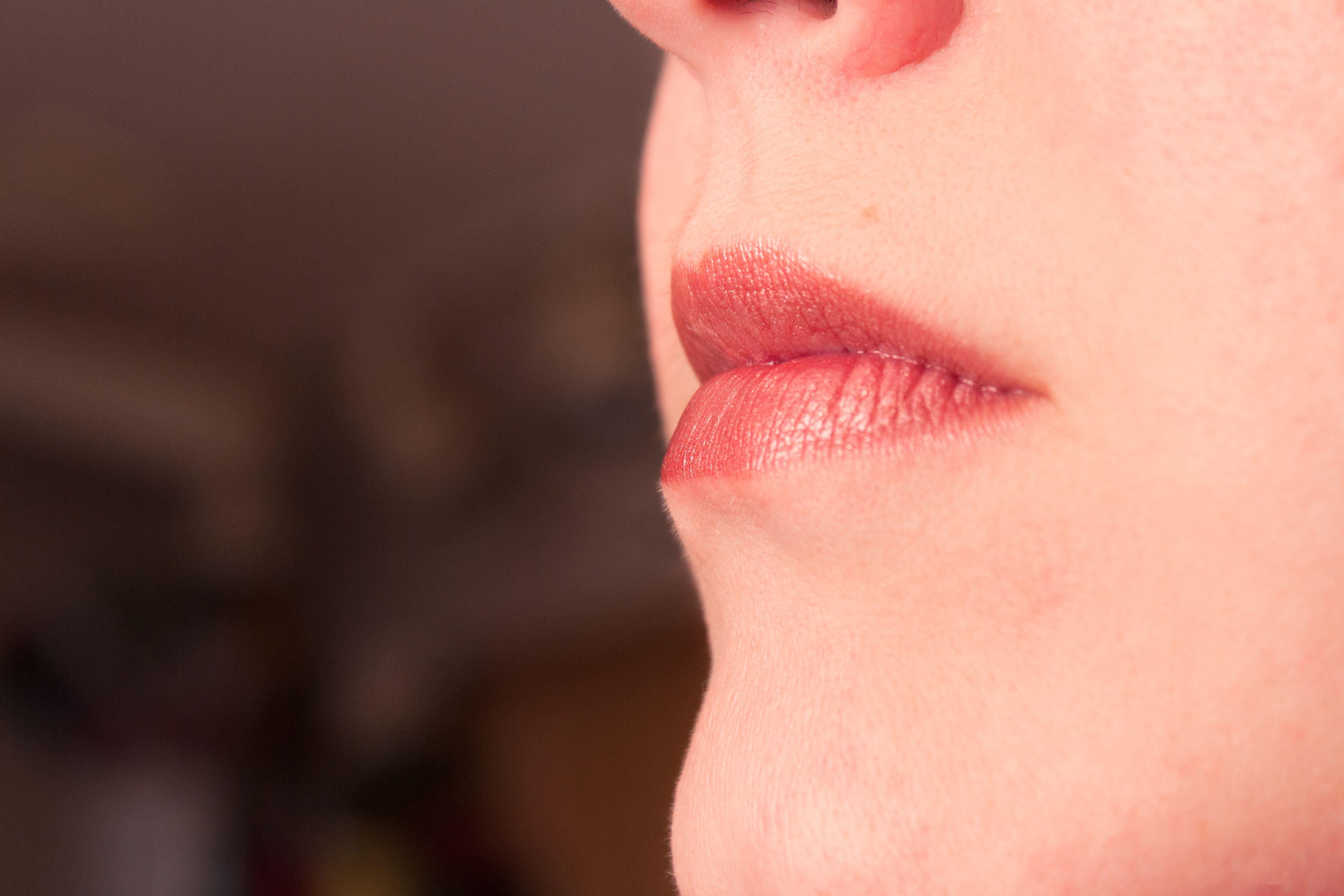 Blisters on Chapped Lips