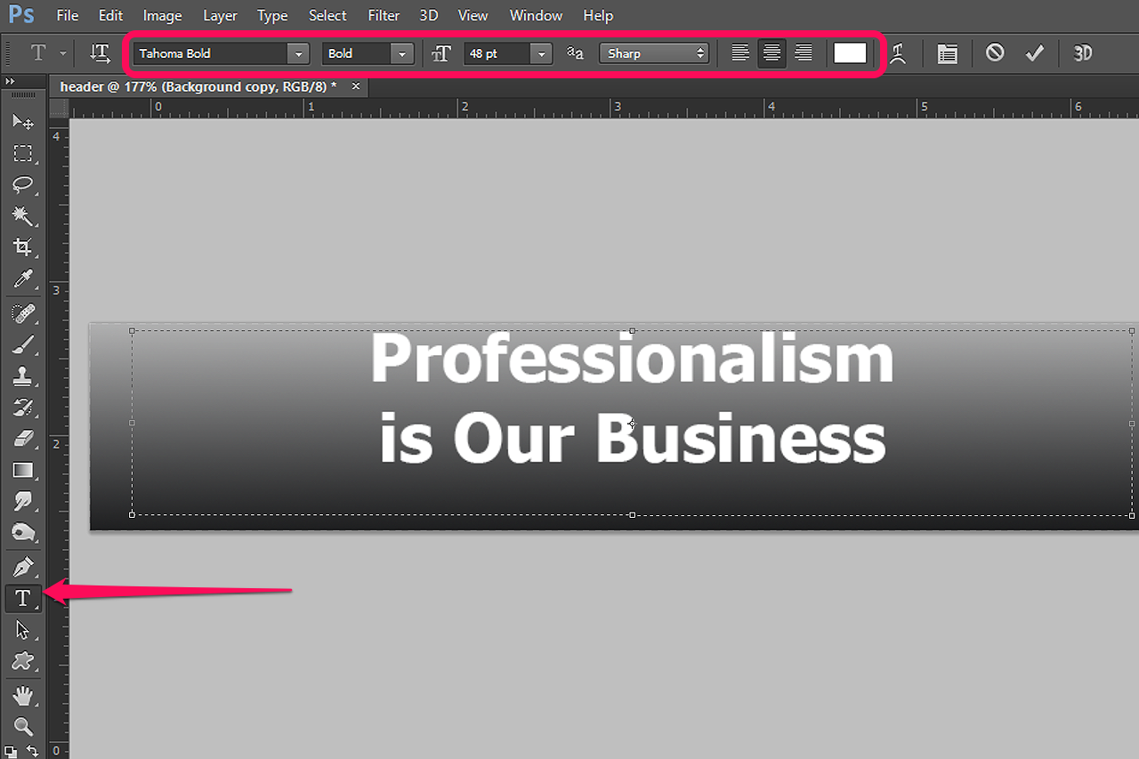 How to Create a Professional Website Header in Photoshop