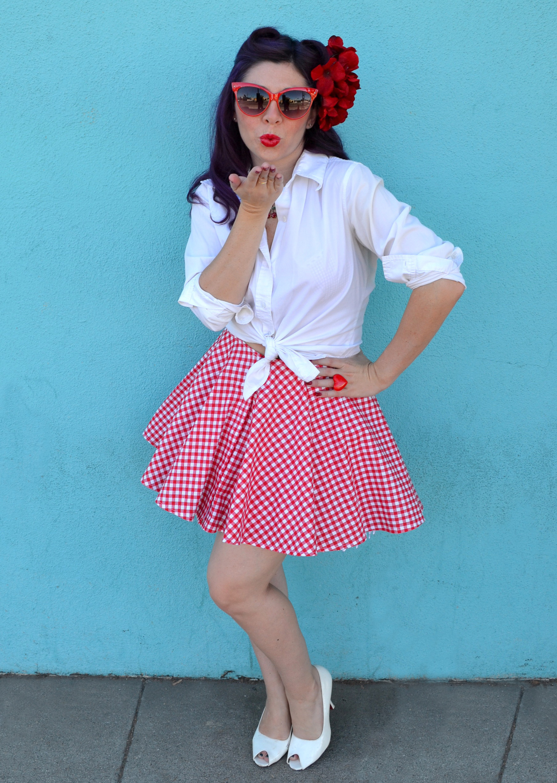 DIY Pin-Up Girl Costume | Our Everyday Life