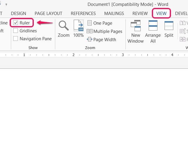 What does it mean to flush with the right margin on microsoft word?