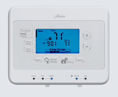 Indiglo Programmable Thermostat Instructions | Hunker