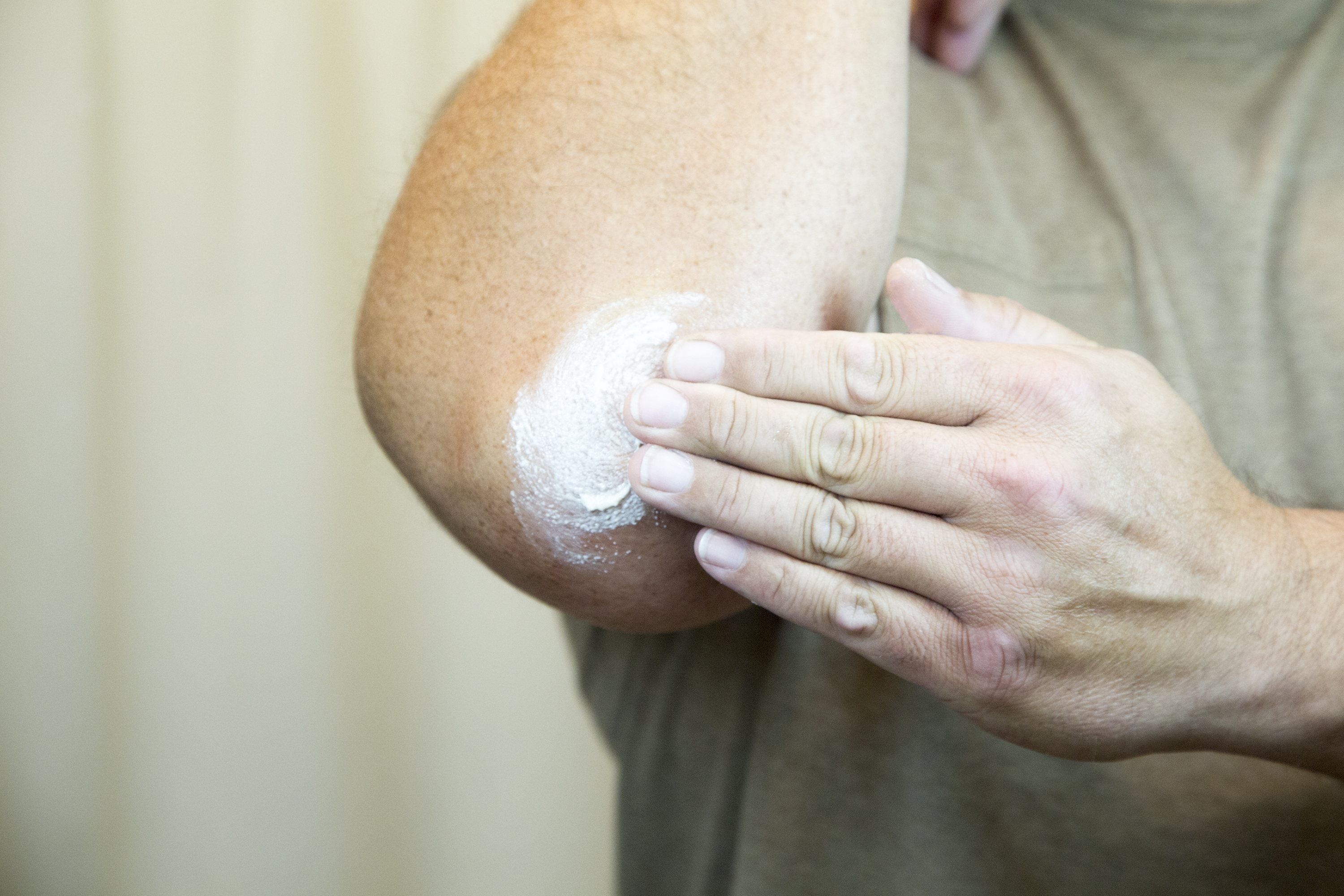 Dry skin can be rough, flaky, red, and sometimes painful