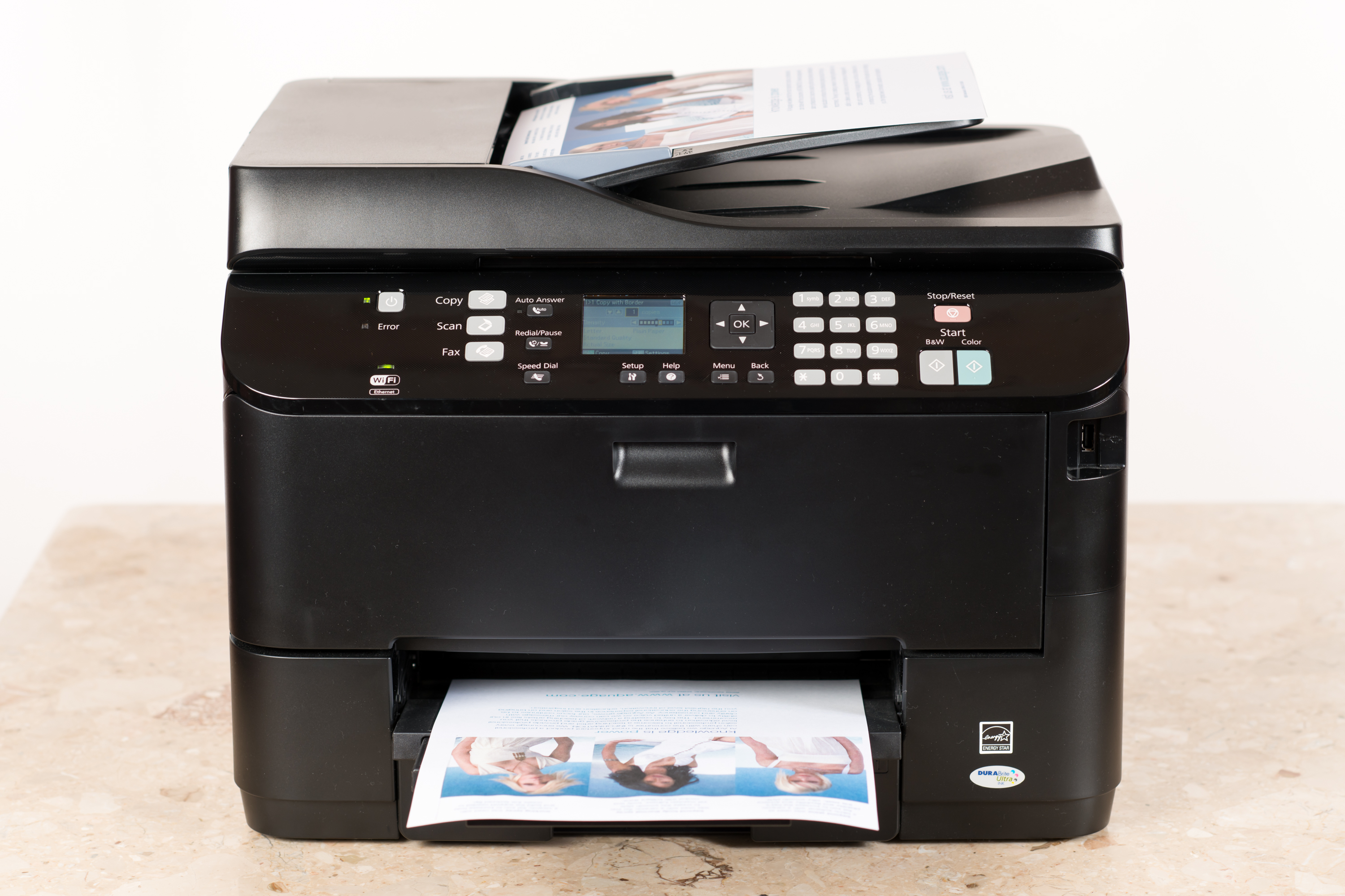How to Make a Reverse Image on a Ricoh Copier | Bizfluent
