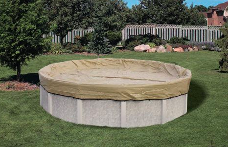 Above-Ground Swimming Pool Cover Ideas | Hunker