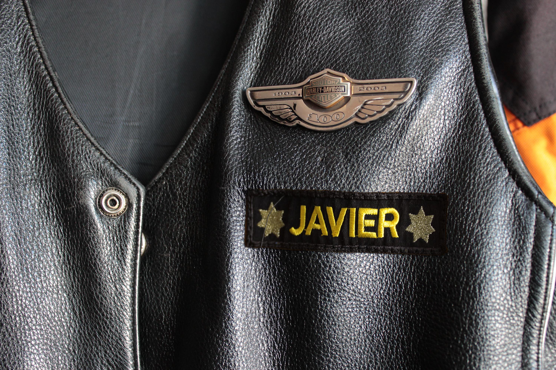 Proper Patch Layout For A Leather Biker Vest It Still Runs