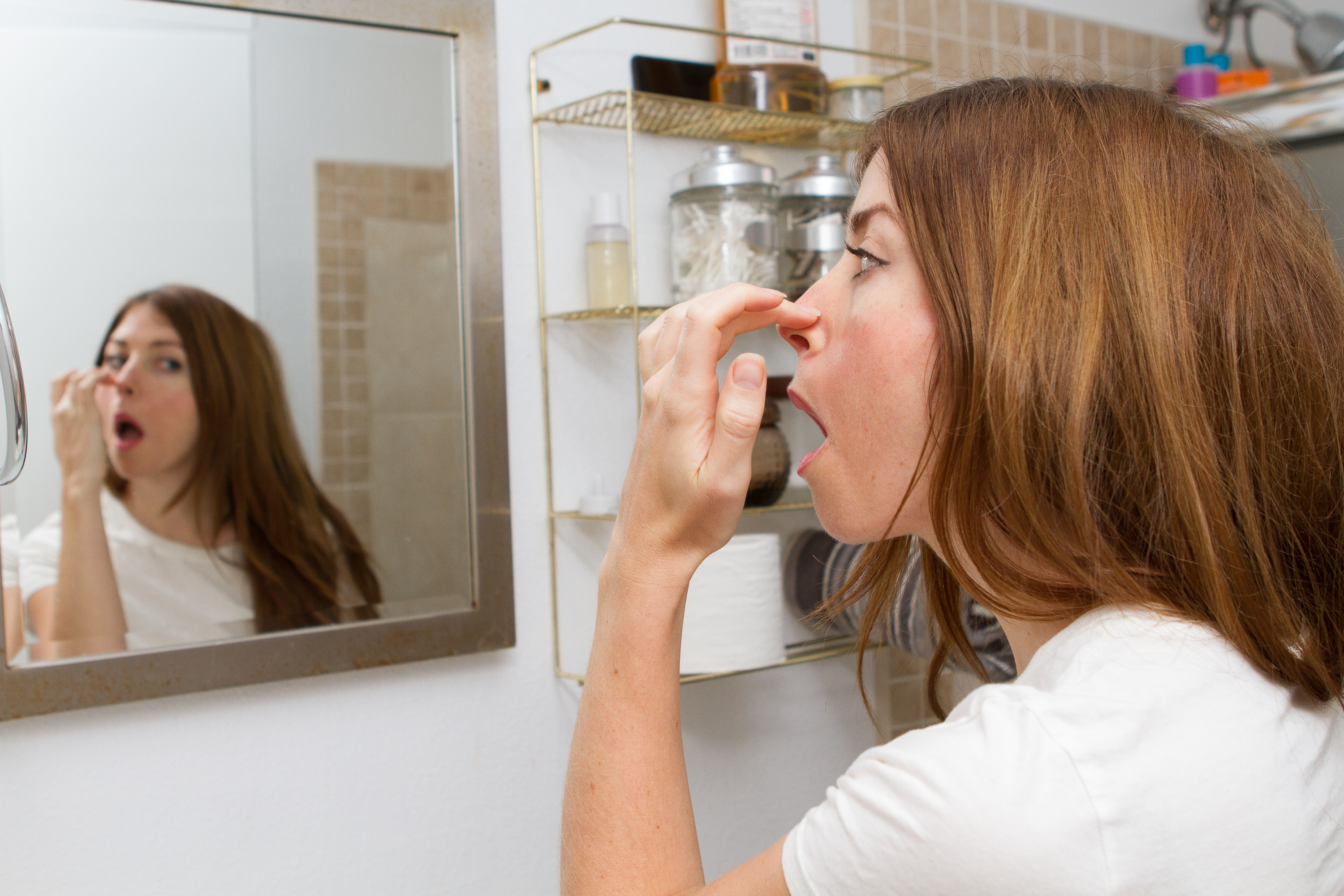 How to Get Rid of a Scabby Nose