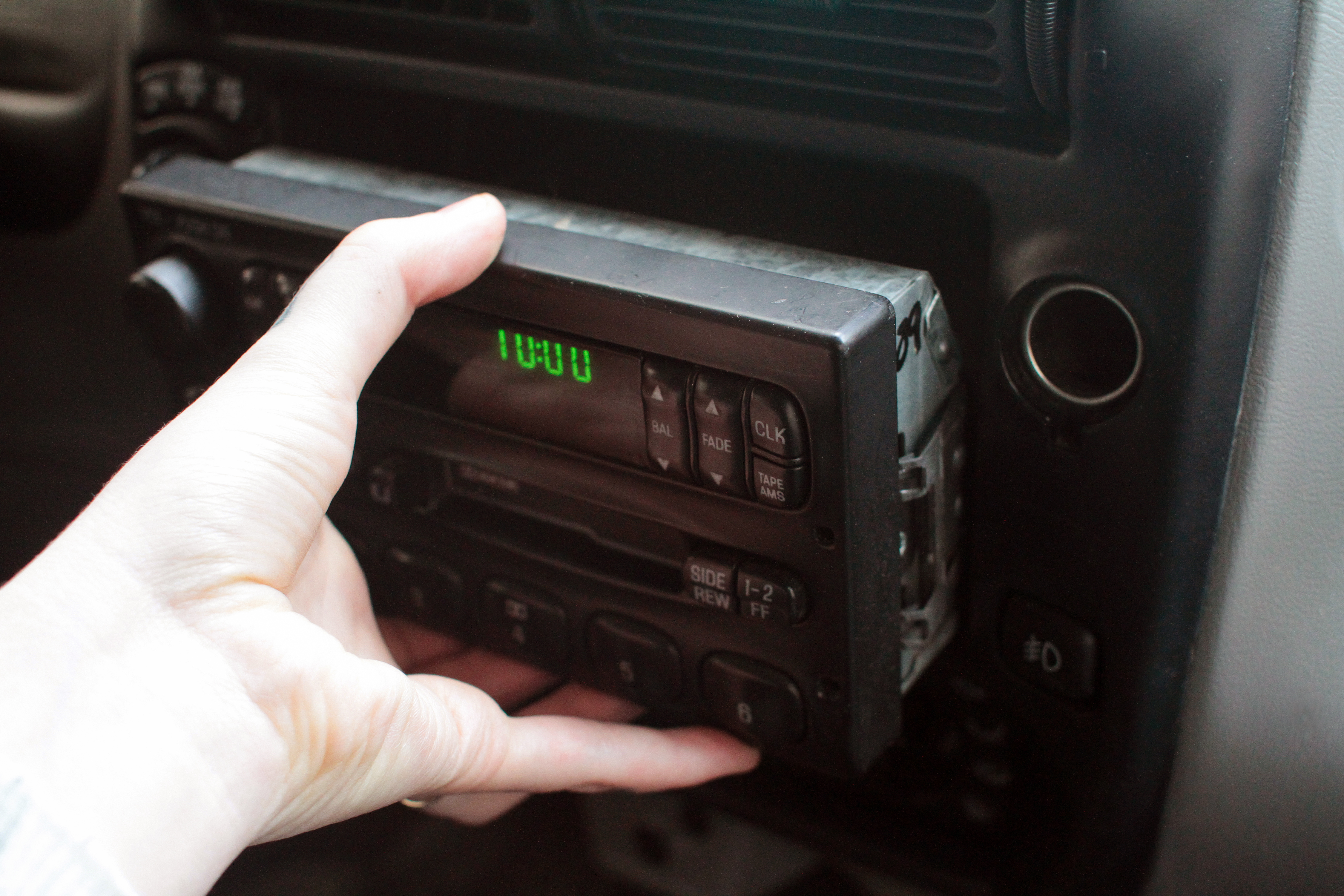 How To Remove A Ford Ranger Stereo It Still Runs Stock 2003 Explorer Radio Wiring Harness 4