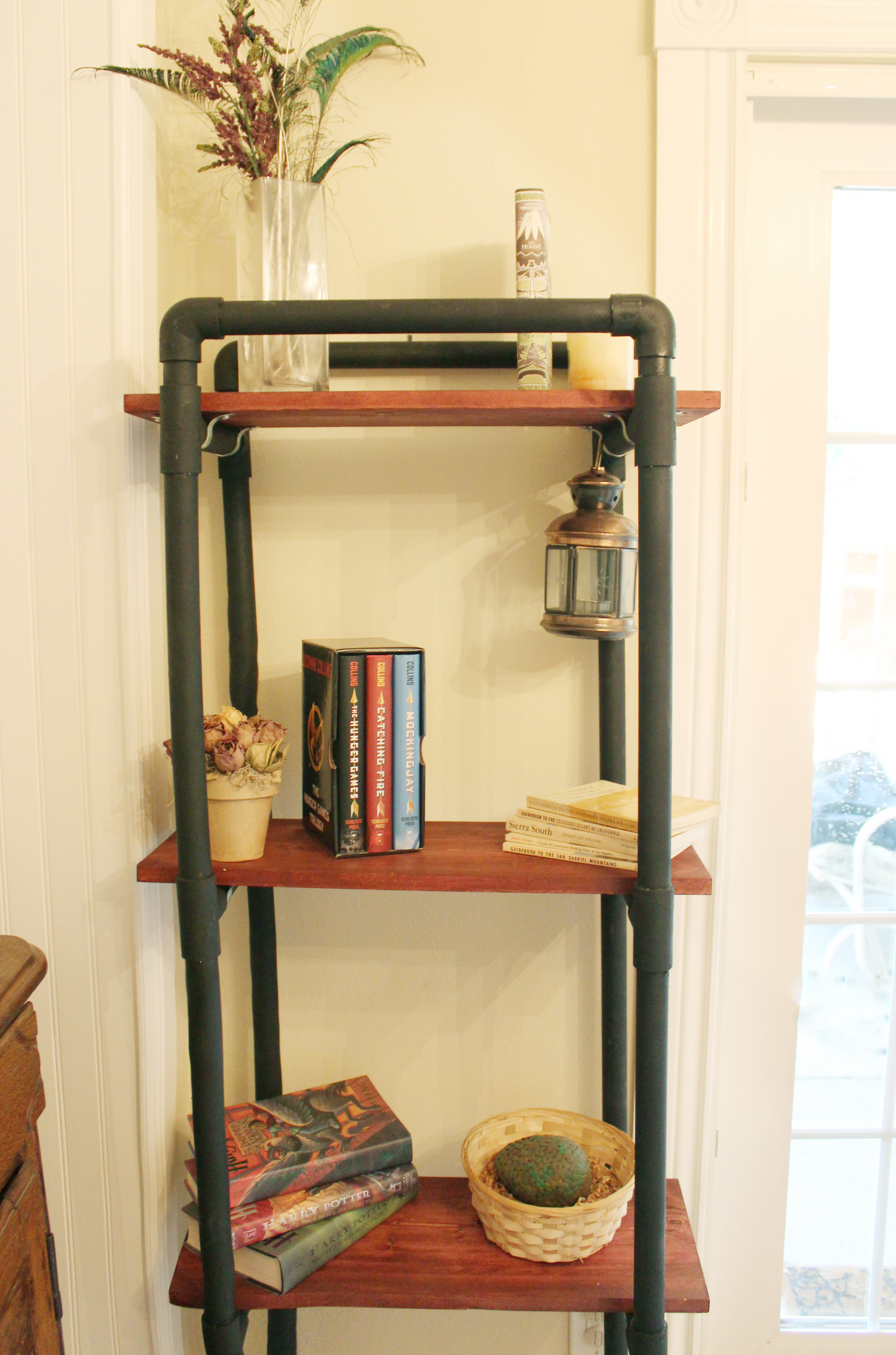 How to Make PVC Book Shelves | eHow