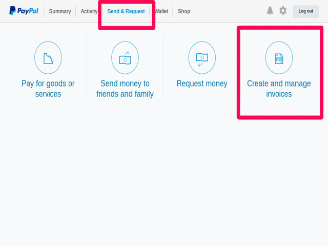 How to Send Invoices on PayPal   Bizfluent