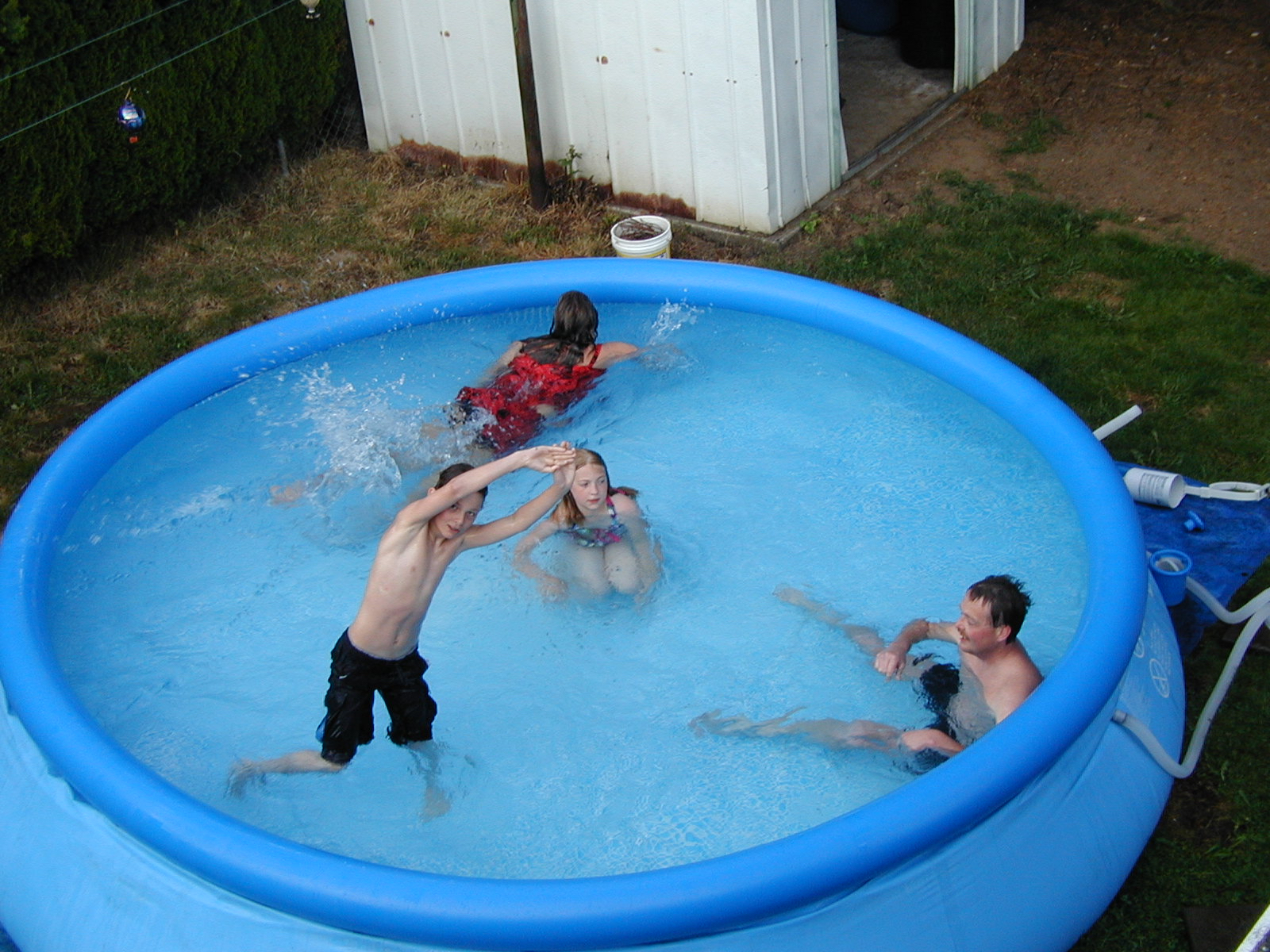 How to Use a Tarp as an Above Ground Pool Cover | Hunker