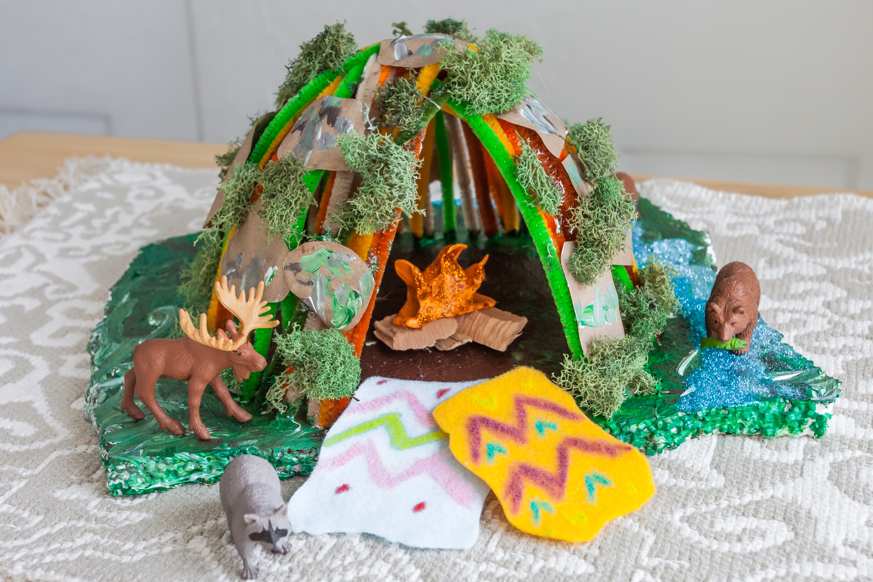 Wigwam Craft Project