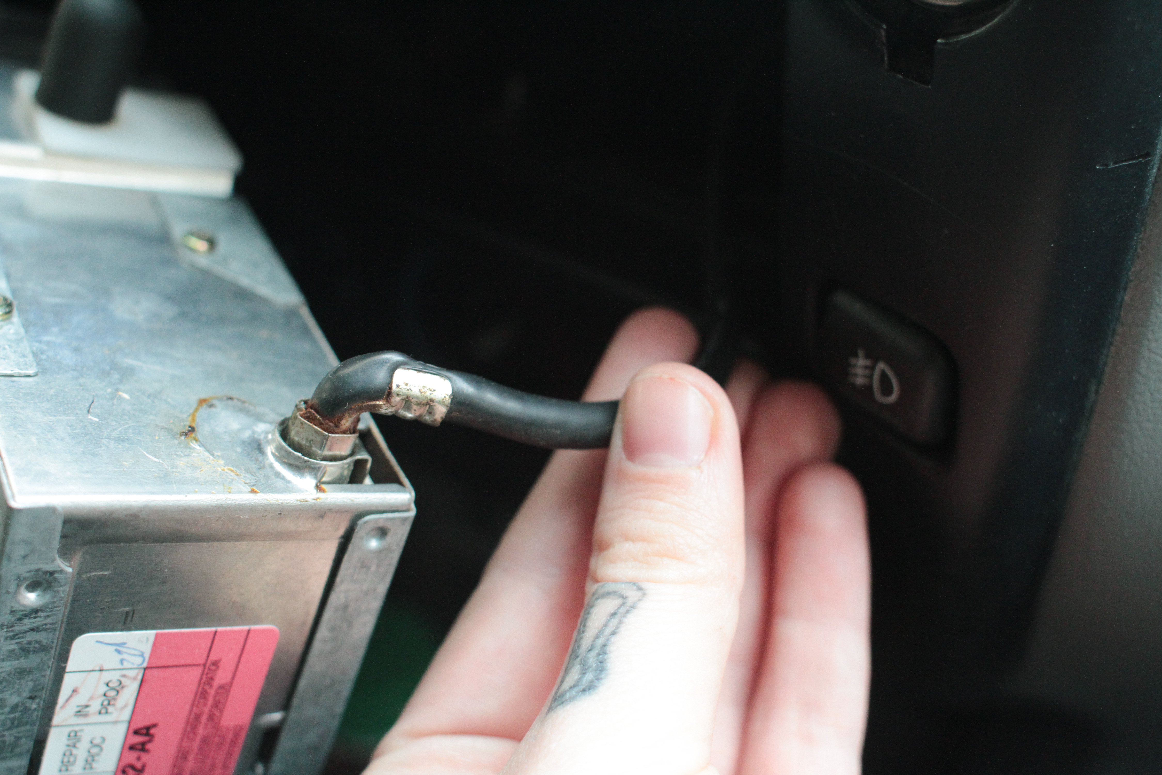 How to Remove a Ford Ranger Stereo | It Still Runs Pulled Car Stereo Wire Harness on pioneer car stereo wiring harness, car stereo remote control, car stereo fuse, car stereo color wiring diagram, cd changer wire harness, car stereo housing, car stereo wiring guide, car stereo cover, computer wire harness, car stereo circuit board, car stereo cooling fan, car stereo speakers, cd player wire harness, car stereo console part, car audio harness, car stereo radio, car stereo power supply,