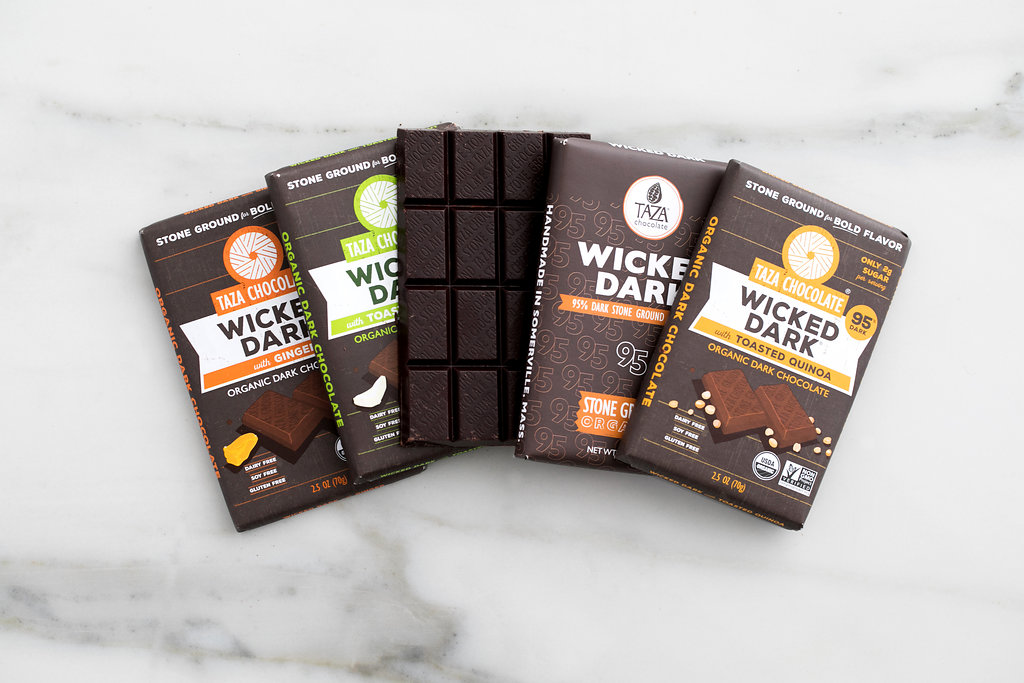 Taza Wicked Dark Chocolate Bars