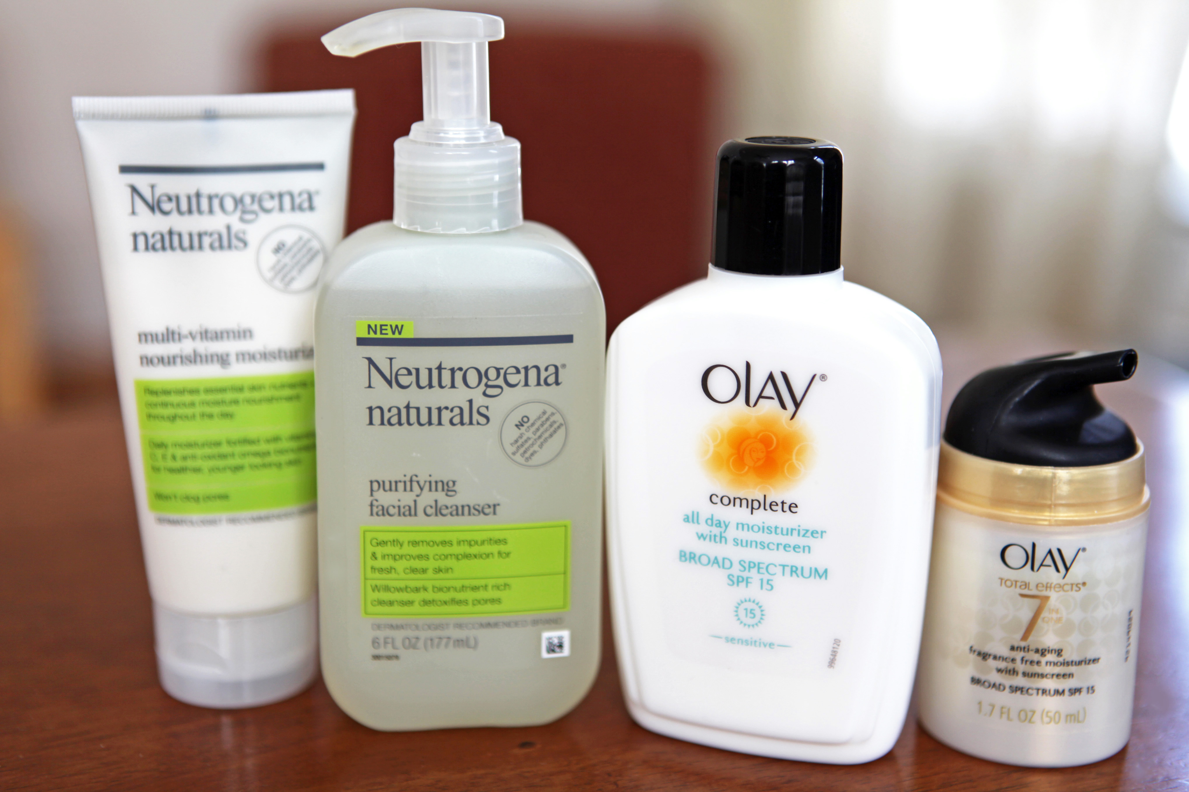 Neutrogena Vs  Oil of Olay | LEAFtv