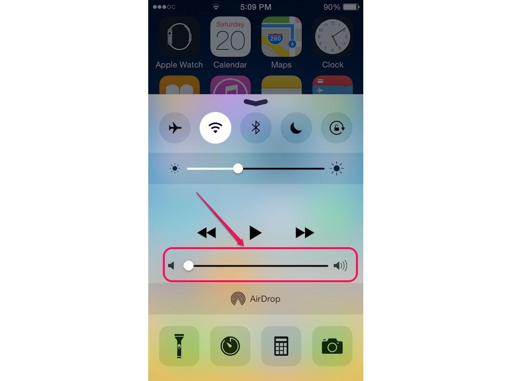 text tone volume iphone 6s
