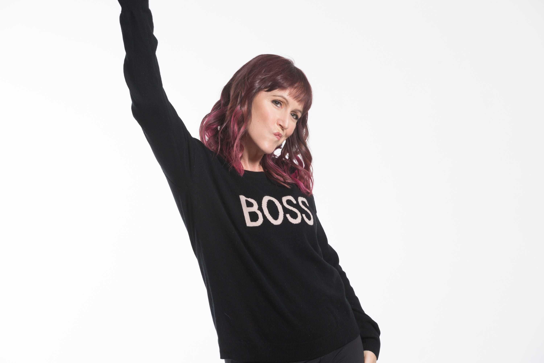 Feel the Piece 'Boss' Sweater