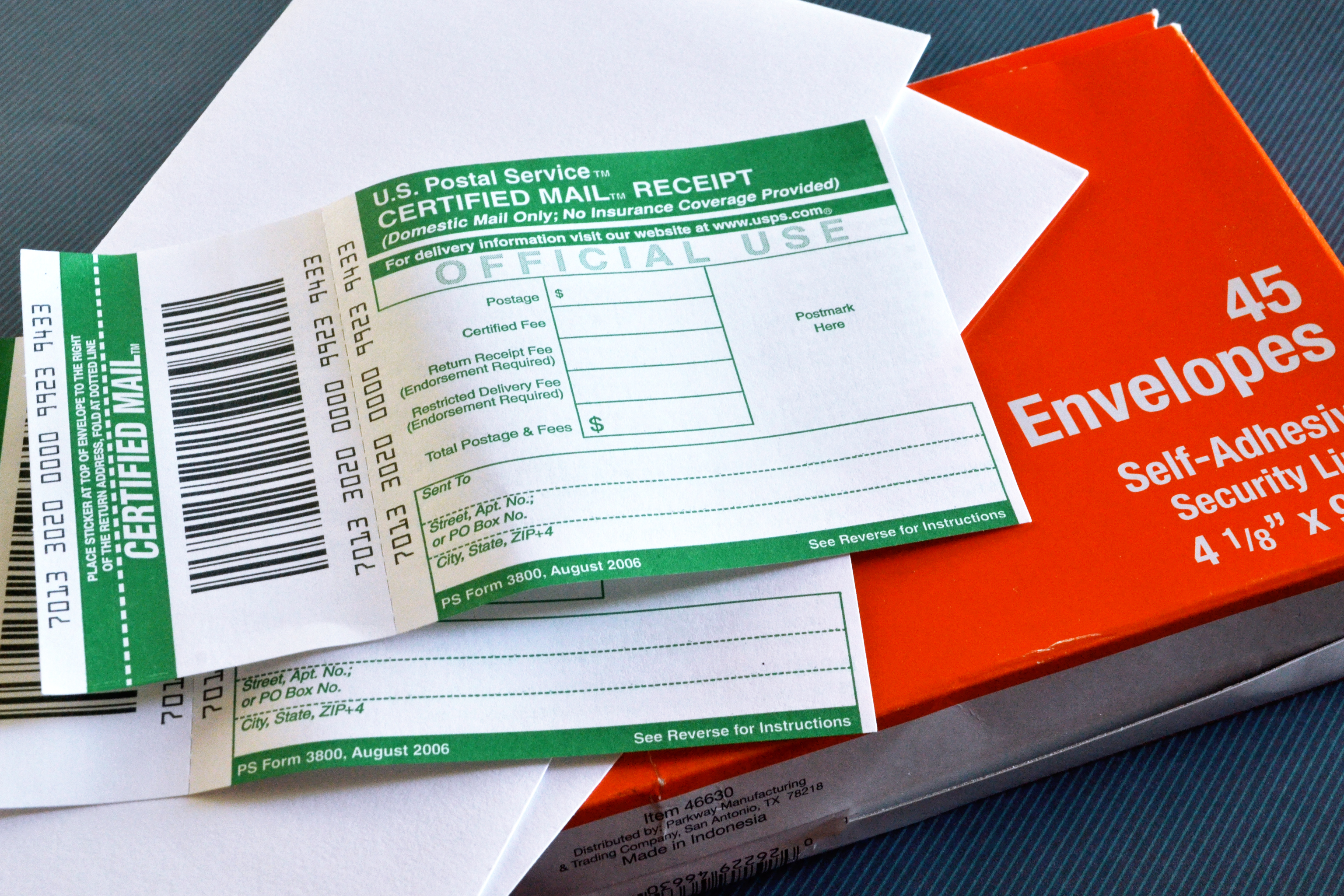 How to Prepare and Mail Certified Letters