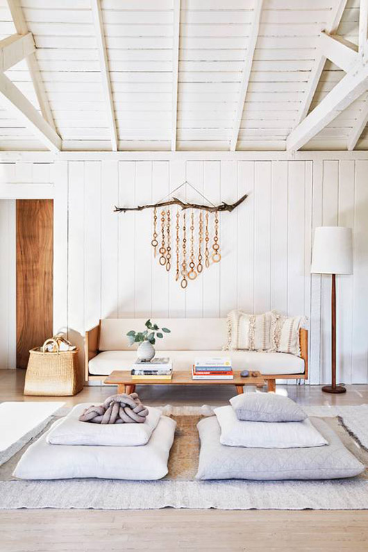 Bohemian Minimalist Home Decor