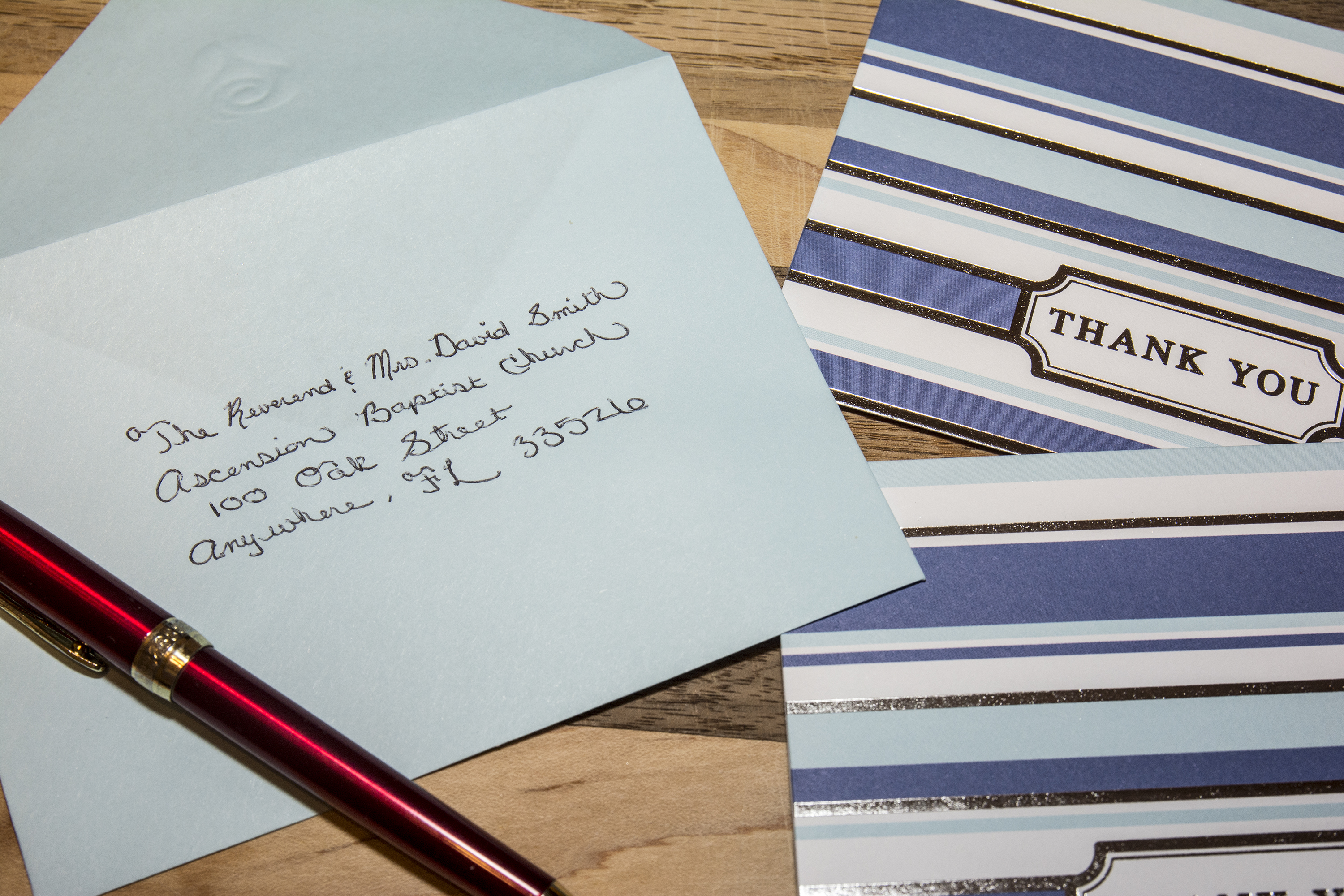 How to Address an Envelope to