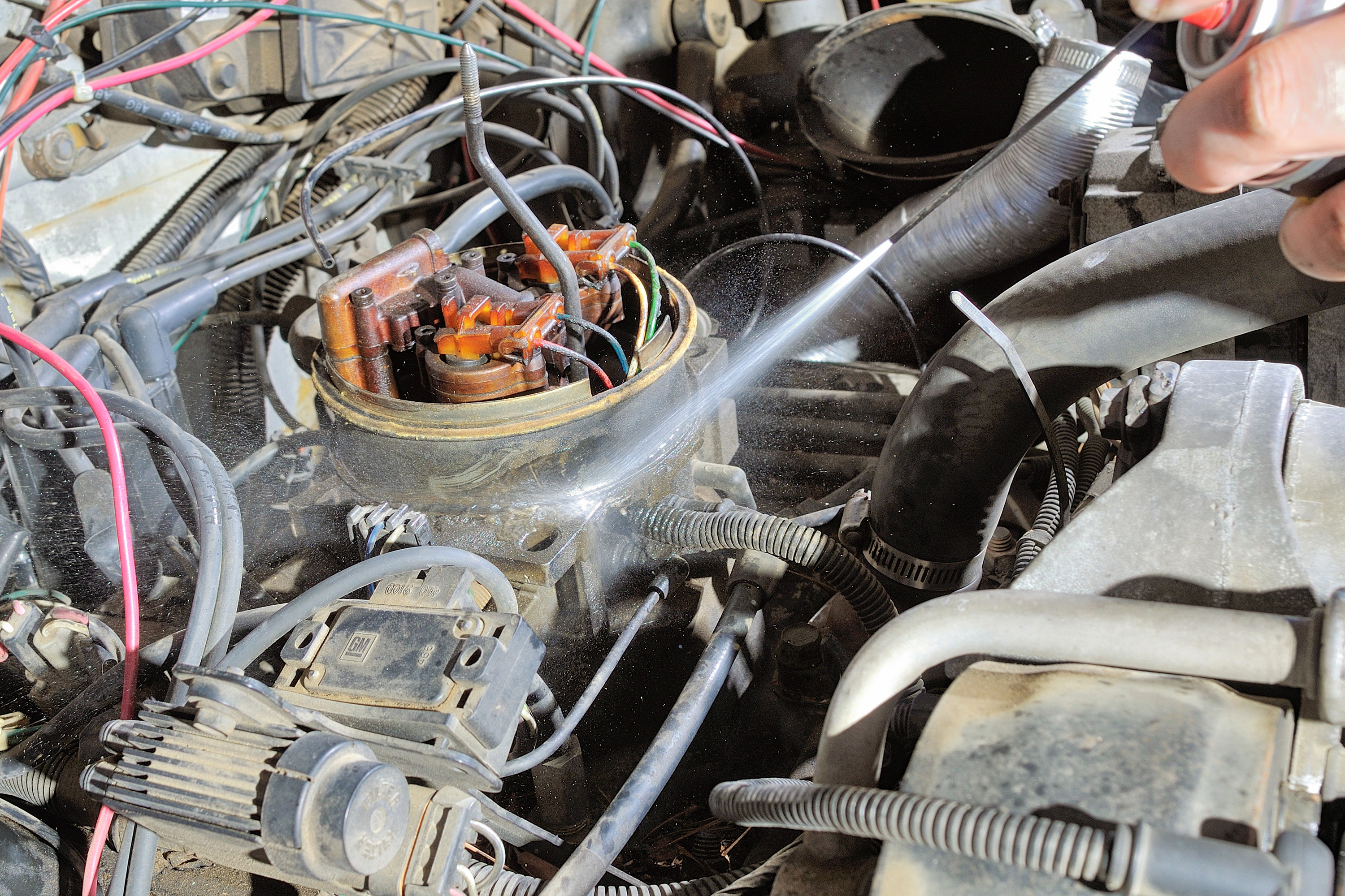 How To Troubleshoot Vacuum Lines In A Chevy S10 It Still Runs 1985 Ram 50 Engine Diagram 3