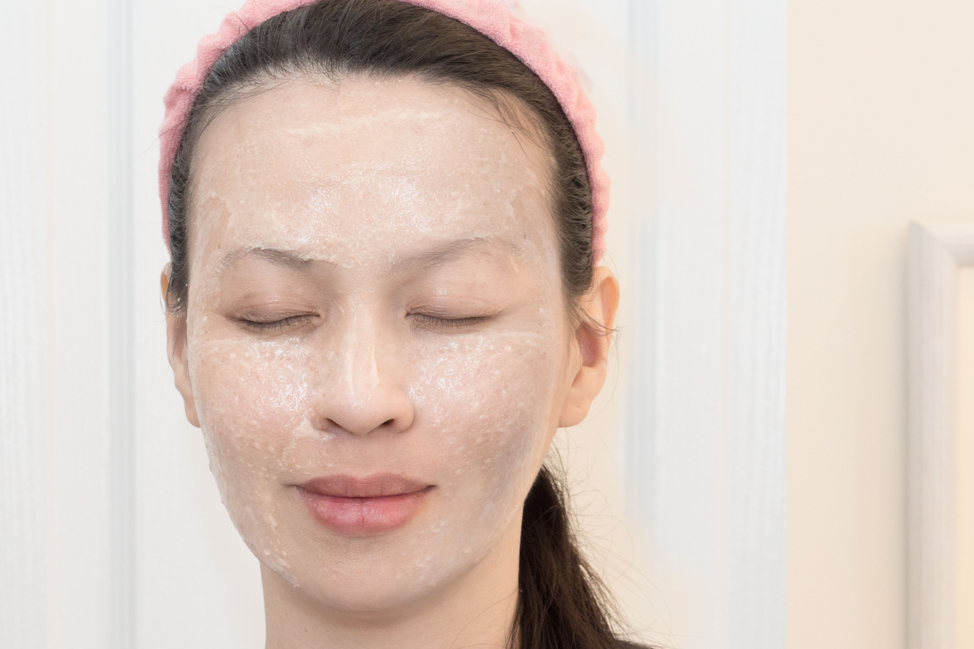 There are Rehydrating facial mask