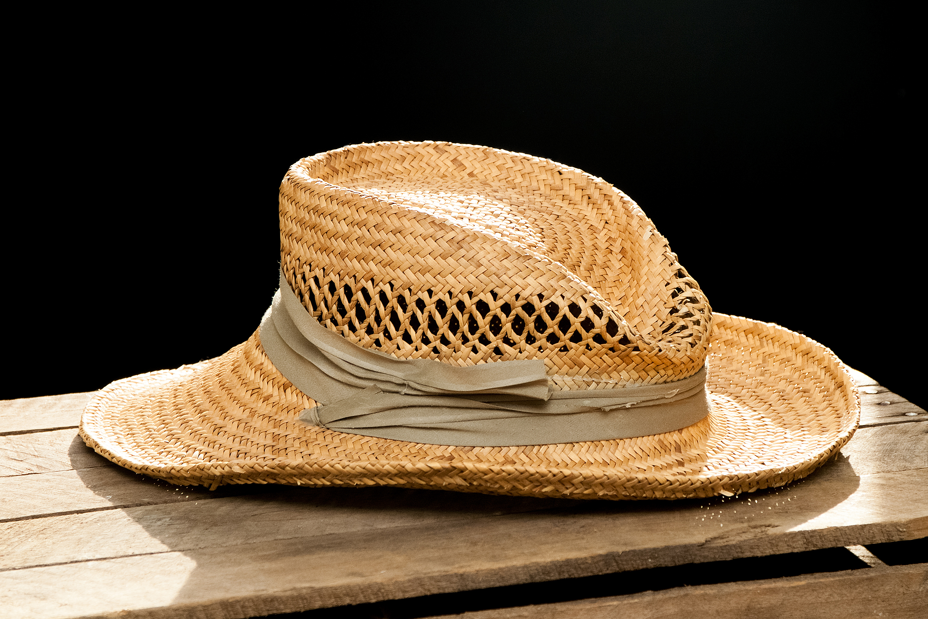 How to Reshape a Straw Hat | eHow