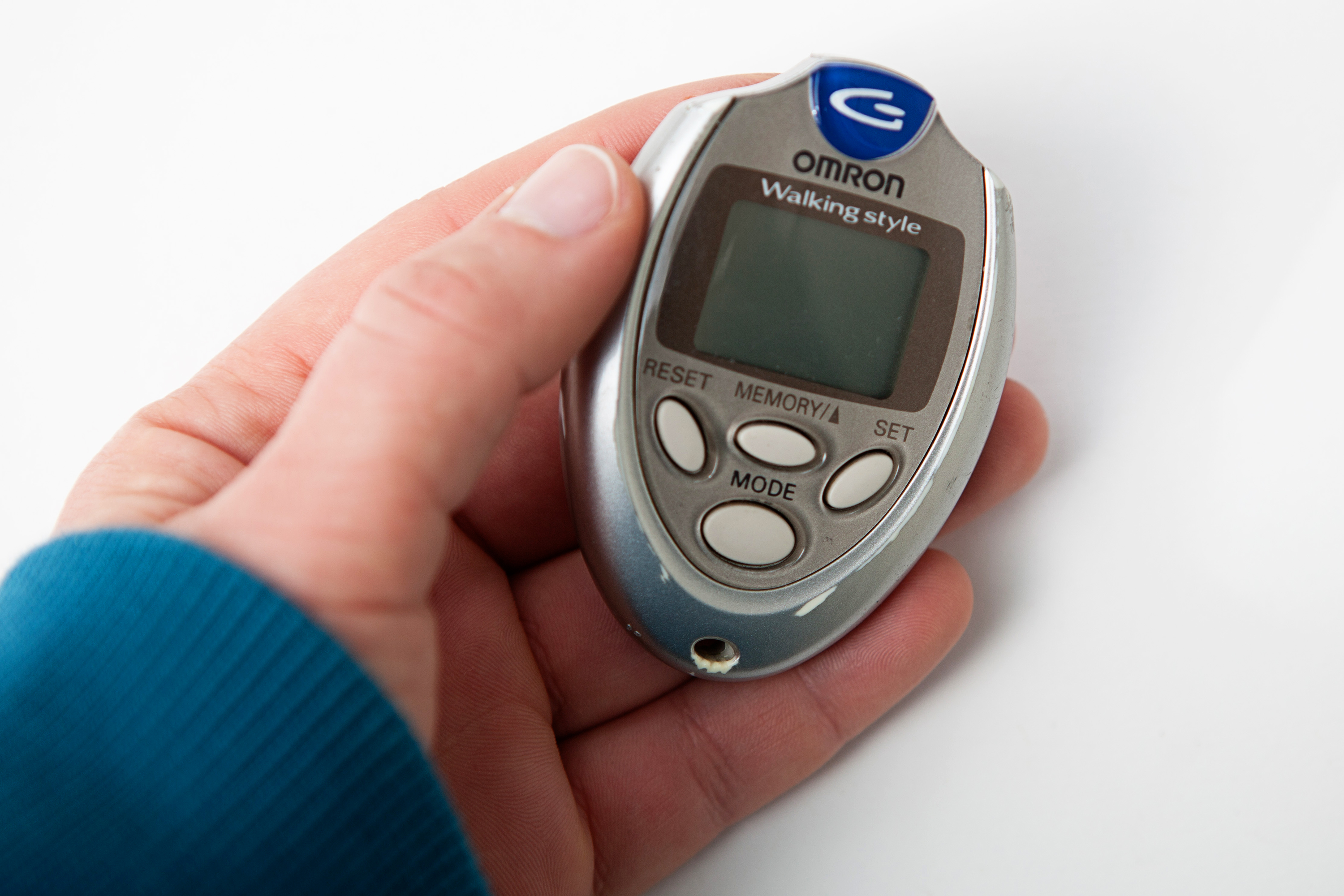 20 most recent sportline 345 electronic pedometer questions.