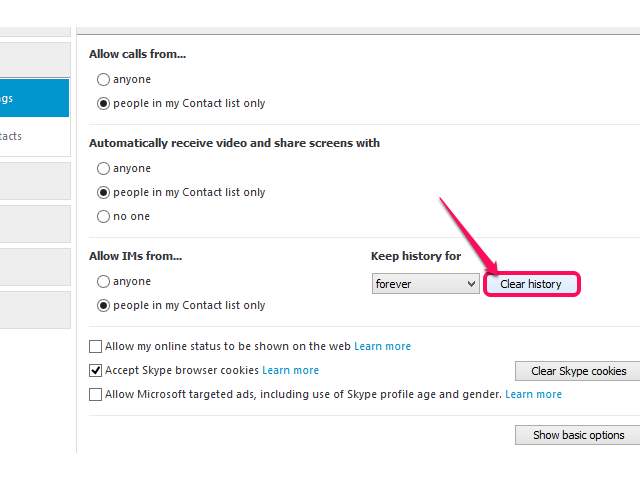 Can Both Sides of a Skype Chat Be Deleted? | It Still Works