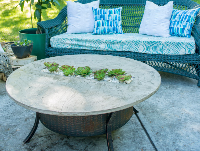 Patio Glow Fire Pit Table Home Interior Design Trends