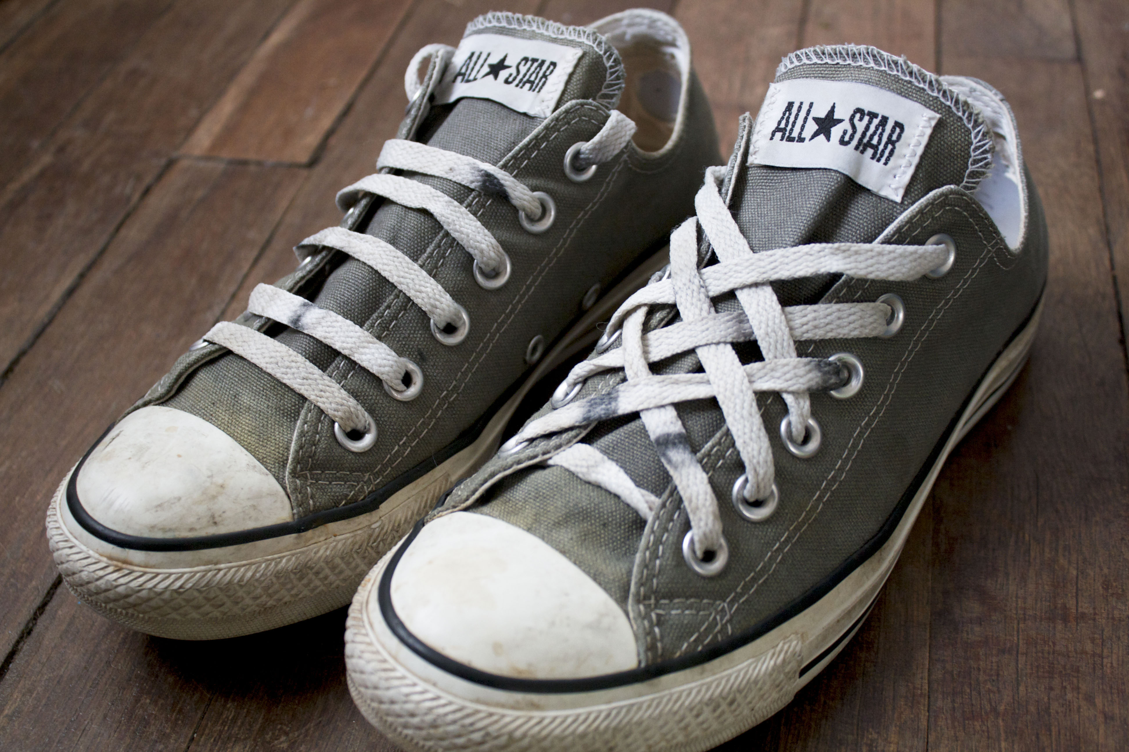how long are high top converse laces